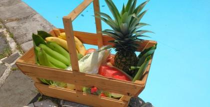 Faites-vous livrer a domicile un panier de fruits et de légumes frais en Martinique.