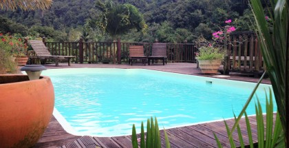 Si vous cherchez un endroit calme en Martinique, faites un tour au gîte de la maison rousse.