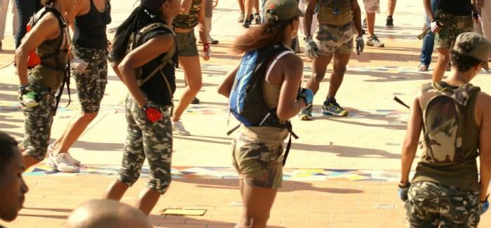 Le Bootcamp militaire de la Bootcamp Academy se fait à Fort de France ou dans certains stades et parcours santé.